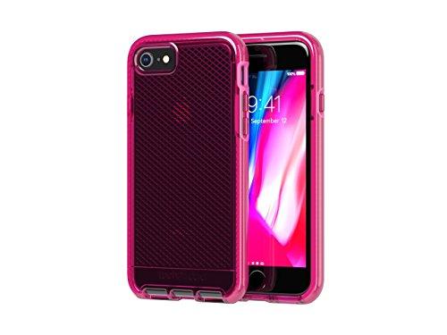 tech21 Evo Check Phone Case for iPhone 7/8 - Fuchsia (T21-6064)