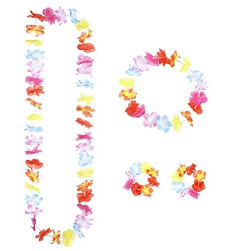 Widmann Generique - Set Hawaï multicolore adulte