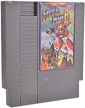 MITUHAKI Mega Man 6 72 Pin 8 Bit Game Card Cartridge for NES - 1 x Mega Man 6 Game Cartridge - Retro Games Accessories Cartridge For Nintendo
