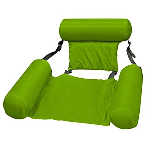 Tianbi Hamaca inflable para piscina de verano, tumbona, balsas inflables para piscina, sofá de aire, silla flotante, cama, piscina, playa, flotador para adultos