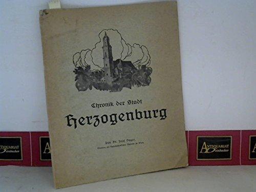 Chronik der Stadt Herzogenburg.