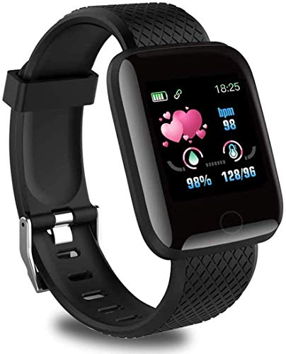 Smartwatch, orologio intelligente impermeabile IP65, braccialetto di attività intelligente con monitor del sonno, contacalorie, cardiofrequenzimetro, contapassi, adatto per ragazzi, ragazze e bambini