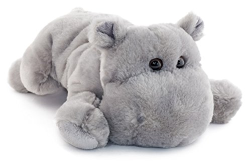 VIAHART Huck The Hippo | 12 Inch Stuffed Animal Plush | by Tiger Tale Toys