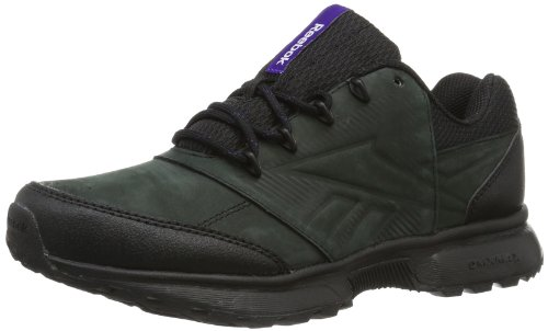 Reebok SPORTERRA CLASSIC V V46346 Damen Walkingschuhe, Mehrfarbig (BLACK/CRISP PURPLE/ULTRA VIOLET), EU 37