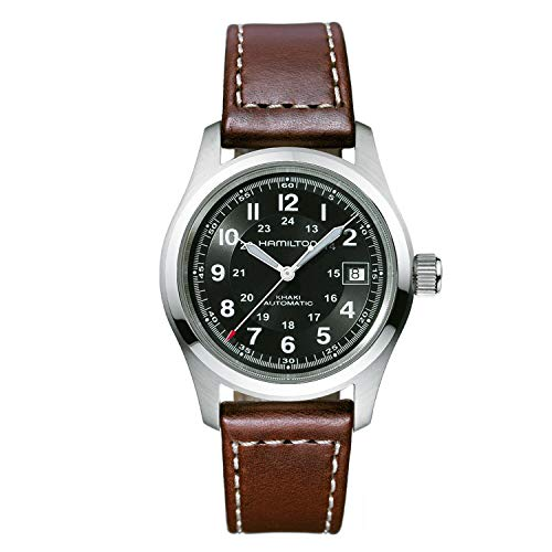 Hamilton Khaki Automatic Movement Black Dial Men's Watch H70455533