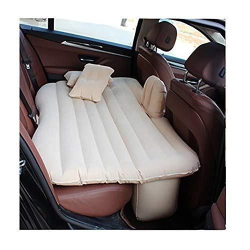 LYFY voor Suv Minivan Achterbank Uitgebreid Matras, Camping Inflatie Bed, Draagbaar Auto Bed, voor Slaap Rust en Intieme Beweging (wit/Zwart/Blauw/Grijs/Geel)