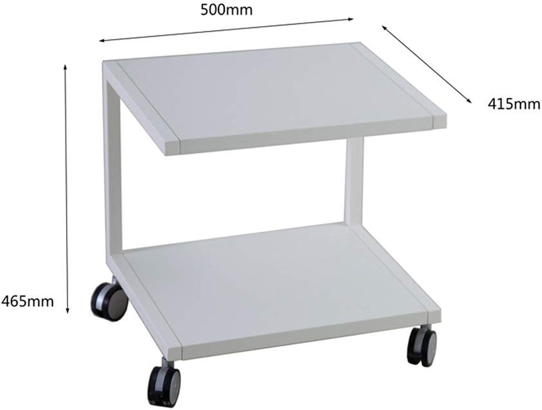 barato y de alta calidad BJYG Mesa Mesa Mesa Lateral, Mesa Plegable, Compartimiento de Almacenamiento práctico, Mesa para Laptop, blancoo (tamaño  41.5  50  46.5cm)  precios razonables