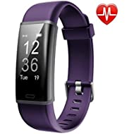 Lintelek Fitness Tracker, Customized Activity Tracker with Heart Rate Monitor, 14 Sports Modes...