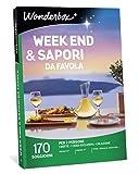 Wonderbox Cofanetto Regalo - Week End & SAPORI da Favola - Valido 3 Anni e 3 Mesi