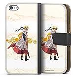 DeinDesign Étui Compatible avec Apple iPhone 5c Étui Folio Étui magnétique Naruto Shippuden...