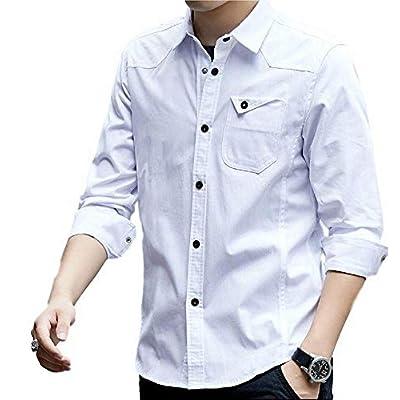 メンズオープンシャツ長袖