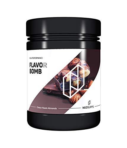 Neosupps Flavor Bomb Choco-Hazel-Almonds | Geschmackspulver | Flavor Powder | Taste | Sweets | Snack | Mahlzeitenersatz | Shake | Protein | Abnhemen und Diät, Geschmack:Chocolate-Almond-Hazelnut