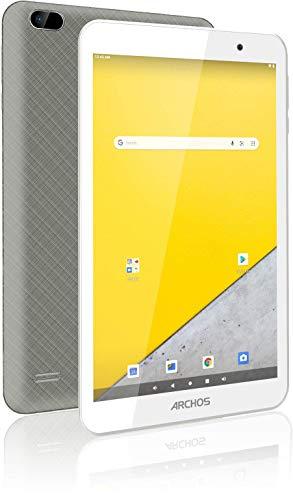 Archos T80 WiFi 16 GB – Tablet Touch Wi-Fi (Schermo 8  IPS HD 1280 x 800 Pixel) – Processore Quad Core @ 1.2 GHz – Doppia Fotocamera 2 MPx – Batteria 4000 mAh – Android 10