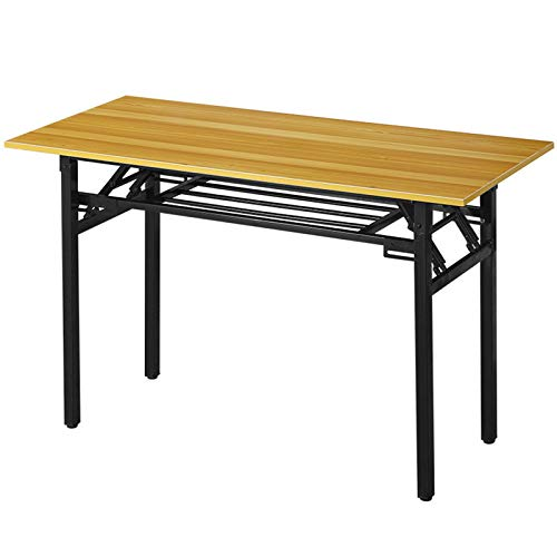Folding Computer Desk Already Assembled Folding Desk Study Laptop Desk Writing Table Home Office Desk 100x50x75 cm