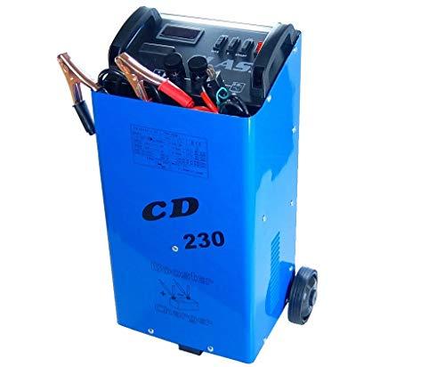 普通車 トラックに!本格 バッテリーチャージャー 充電器 CD230 青!12V 24V両方可能!暗闇でも見やすいデ...