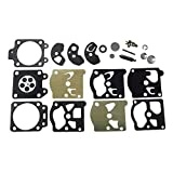 Buwei El Kit de reparación/reconstrucción de carburador reemplaza a Walbro K10-WAT para STIHL Husqvarne McCull para Stihl 09/010/011/028 / FS40 / FS44 / FS85 / FS86 / FS88 / FS106 / FS180