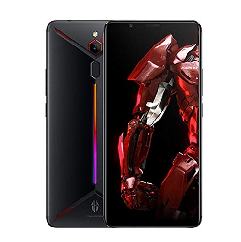 ZTE Nubia Red Magic Mars 6.0 Inch 8+128GB Dual SIM Game Phone Snapdragon 845 Octa-Core Android 9.0 Fingerprint Smartphone - Red Color