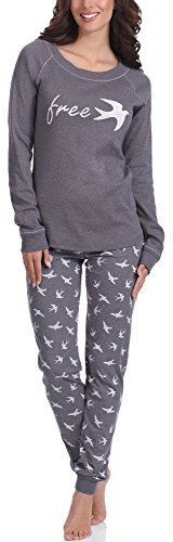 Italian Fashion IF Pijama Camiseta y Pantalones Mujer CL24 0223