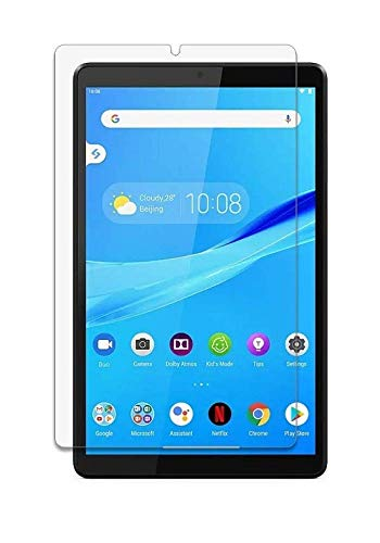 Colorcase Tablet Tempered Glass Screenguard Screen Protector for Lenovo Tab M8 - {Transparent}