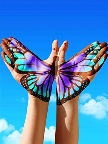 QRKJ Rompecabezas de 6000 Piezas para Adultos, Hermoso Arte de Mariposa, Juegos de Rompecabezas educativos intelectuales Divertidos para niños y Adultos, Juguetes
