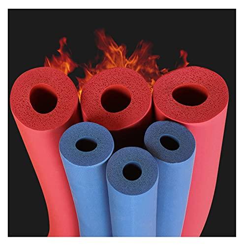 Tubo Isolante Condizionatore d'Aria Elastomerico Flessibile Scaldacqua Solare Celle Chiuse Schiuma Isolamento Tubi, Diametro Interno16/25mm Spessore20/25mm Blu (Color : Red, Size : I34mm*T20mm*L2m)