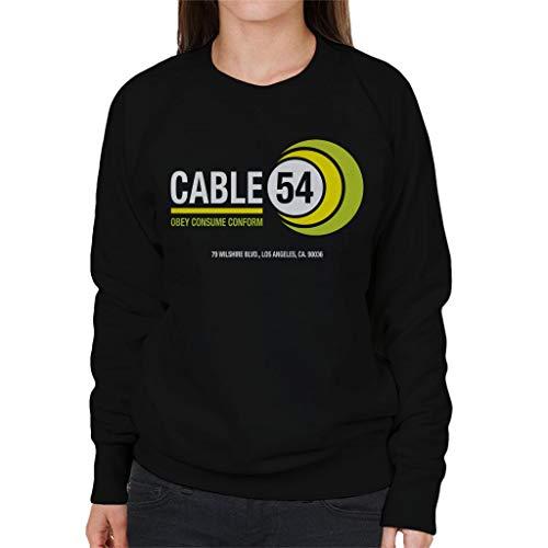 Cloud City 7 Ze leven kabel 54 vrouwen Sweatshirt