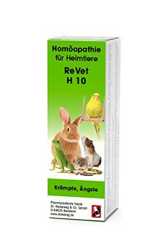 ReVet H 10 Globuli für Heimtiere -Homöopathisches Arzneimittel für Heimtiere, freiverkäuflich, 10 g