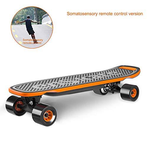 LSXX Body Electric Skate afstandsbediening voor reizen, skaten, autostrada, draagbare skate cruiser op skateboard-afstand (12 kilometers kruis Gamma)