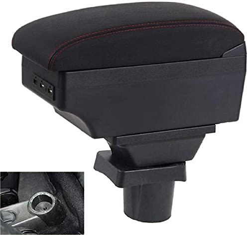 Auto Braccioli Custodia per MINI Cooper Countryman R60 R56 R57 R58 R53, Centrale Console Doppio Strato Impermeabile Portaoggetti Armrest Box, Interior Styling Accessories