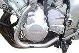 Defensa Protector de Motor Heed Yamaha FZ 6 Fazer (04-10) - Plata