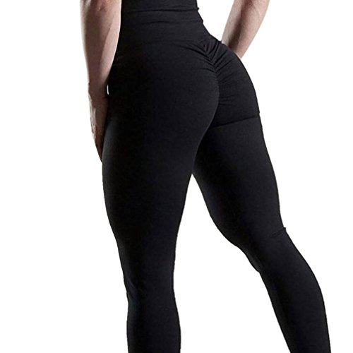 Women Sexy Ass Solid Workout Leggings Fitness Sports Gym Yoga Athletic Pants