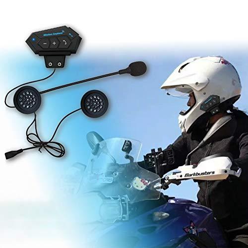 Ocamo hoofdtelefoon, headset voor motor, BT12 motorhelm, BT headset hoofdtelefoon, luidspreker, ondersteuning handsfree bellen om te beantwoorden of weigeren, ophangen