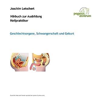 Hörbuch zur Ausbildung für Heilpraktiker: Geschlechtsorgane, Schwangerschaft und Geburt Titelbild