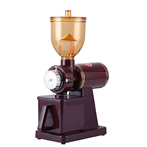 Elektrische Kaffeemühle Konische Kaffeemühle, Tragbar Mit Stufenlos Einstellbarer Mahlung Für Kaffeebohnen, Gewürze, Nüsse Und Getreide,Rot,Standard 220V