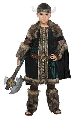 Disfraz Vikingo Green (7-9 AÑOS)