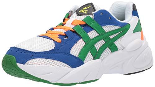 ASICS Tiger Women's Gel-BND Running Shoes, 6M, White/Green