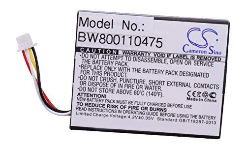 vhbw Li-Ion Akku Backup-Batterie 830mAh (3.7V) für Server Raid Controller Dell PERC H710, H710P, H810 wie 070K80, 07VJMH, T40JJ, u.a.
