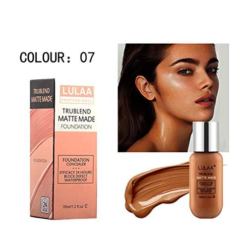 Neubula 35ml Correcteur De Teint Crème De Teint Yeux Pour Les Yeux Faits Saillants Liquide Contournant Maquillage Liquide Naturel (G)