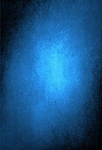 Azul Claro Gradiente Color sólido Superficie de la Pared Fantasía Bebé Patrón Fotografía Fondo Fotografía Telón de Fondo Estudio fotográfico A6 7x5ft / 2.1x1.5m
