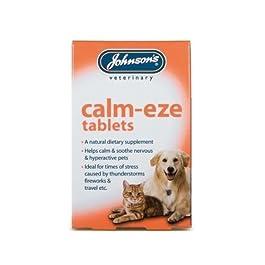 (4 Pack) Johnson's Vet – Calm-Eze Tablets (36) Dog / Cat