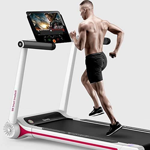 WEHOLY Verwenden von Laufband, Schlankheits-Mini-Laufgerät, Fitnessgeräten, elektrischem Laufband Laufband