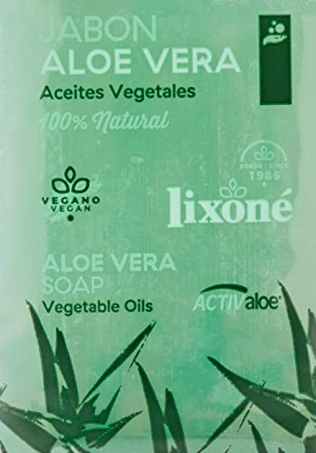 Lixone Jabón de Aloe Vera - 3 Unidades