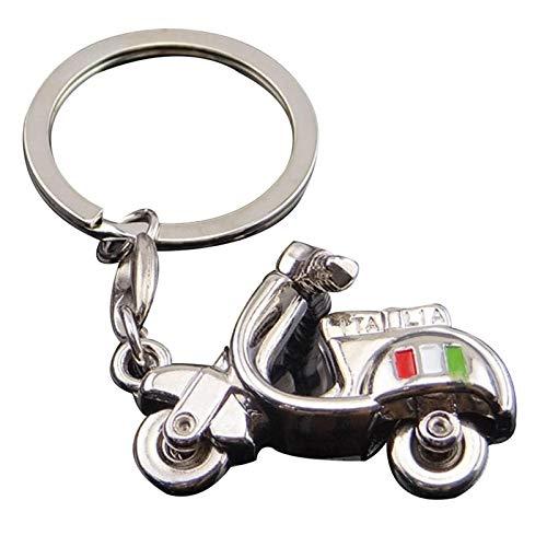 ZHBB Llavero accesorios para motocicleta 3d llavero scooter metal decorativo llavero
