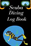 Scuba Diving Log Book: Fairy Tale Happy End Scuba Diver Dive Log Book Funny Diving Ocean Lover Trip Underwater World Dive Master Open Water ..