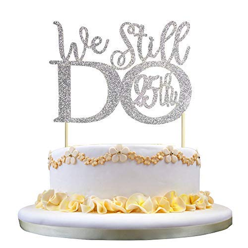 25th Wedding Anniversary Cake Ideas: 25th Wedding Anniversary Decorations: Amazon.com