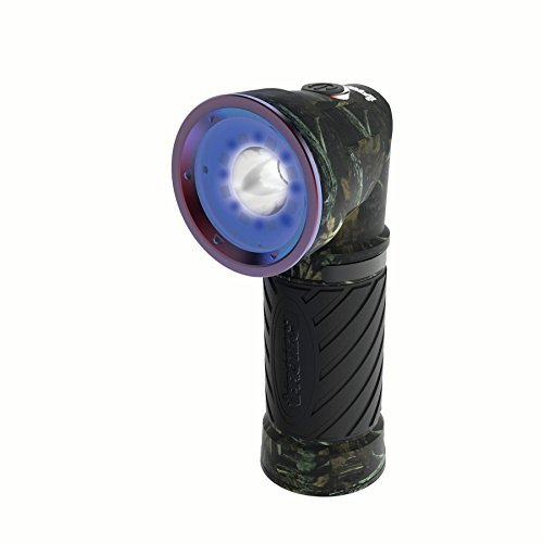 iProtec Night Commander Blood Tracker Light, Impact & Water-Resistant 4-in-1 LED Light with Magnetic Base, Camo, One-Size