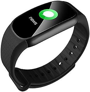 cessbo F603Colorido Protector de Saludable Smart Fitness Tracker Pulsera Inteligente de atención de frecuencia cardíaca para Android iOS PK Miband Inteligente Pulsera