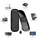 Air Mouse Remote,2.4G Wireless Fly Mouse Keyboard W1 T18 Multifunctional Remote Control for Android TV Box/PC/Projector/HTPC/All-in-one PC and More