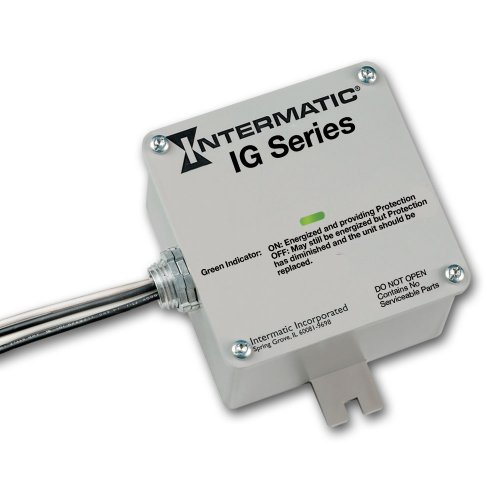 Intermatic IG1200RC3 Surge Protector, Gray
