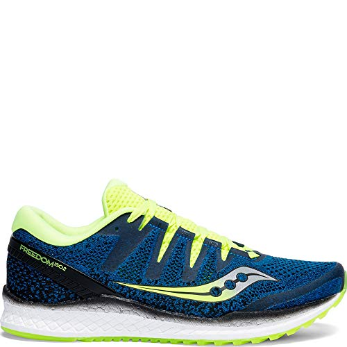 Saucony Freedom ISO 2 Men 7 Blue | Citron